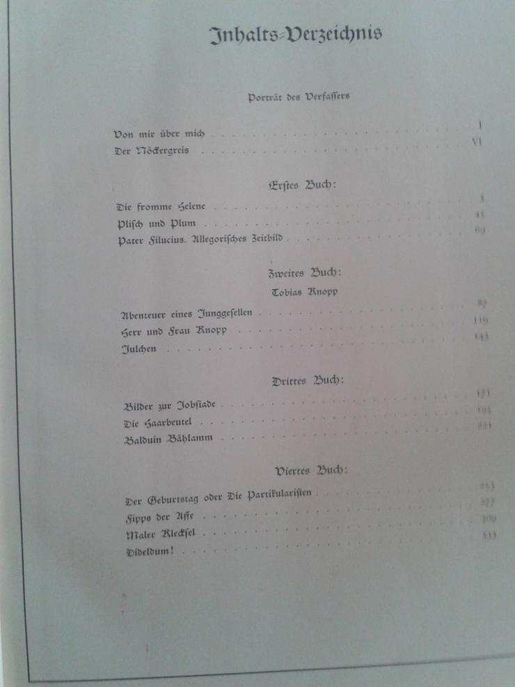 Bild 5: Wilhelm Busch Max und Moritz