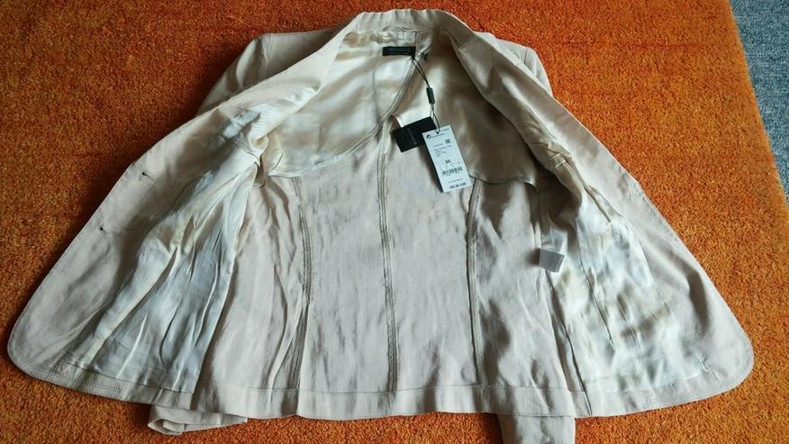 NEU Damen Leinen Jacke Gr.36 P.169,95€