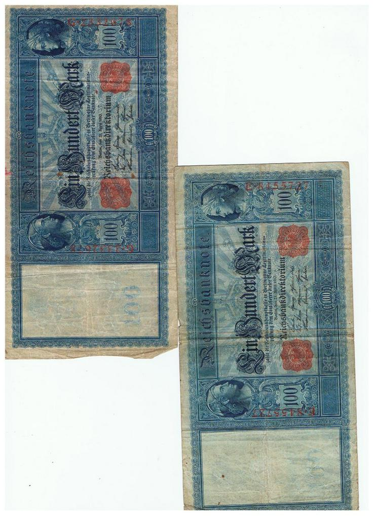 Bild 4: 100 Reichsmark von 1908