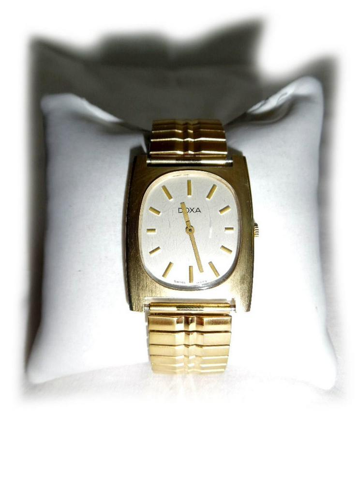 Goldene Doxa Armbanduhr