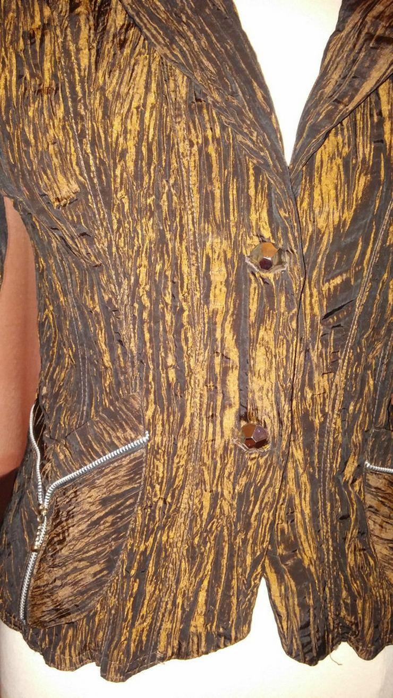 Bild 3: Damen Crash Blazer Gr. 1 (38) in braun NW