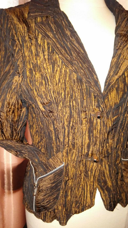 Bild 4: Damen Crash Blazer Gr. 1 (38) in braun NW
