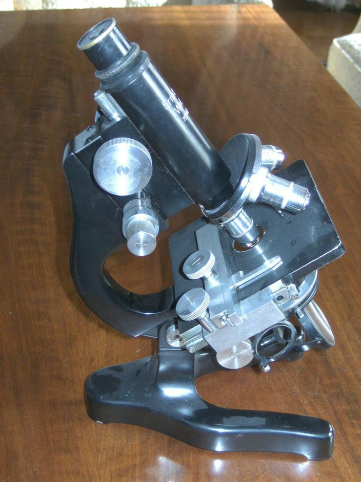 Bild 5: Mikroskop Ernst Leitz Wetzlar,
