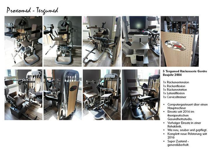 5 Proxomed - Targumed Krafttrainingsgeräte - Bauch- & Rückentraining - Bild 1