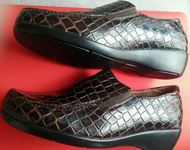 NEU Damen Schuhe Mokassin Gr.39 - Bild 1