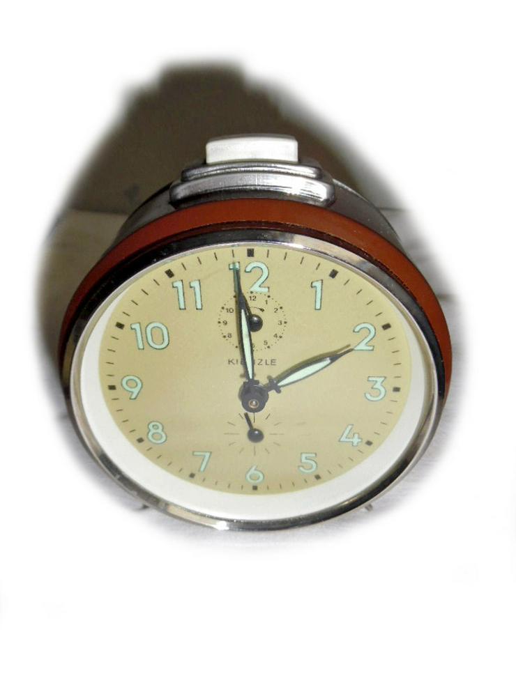 Brauner Wecker von Kienzle - ca. 50er Jahre - Uhren - Bild 1