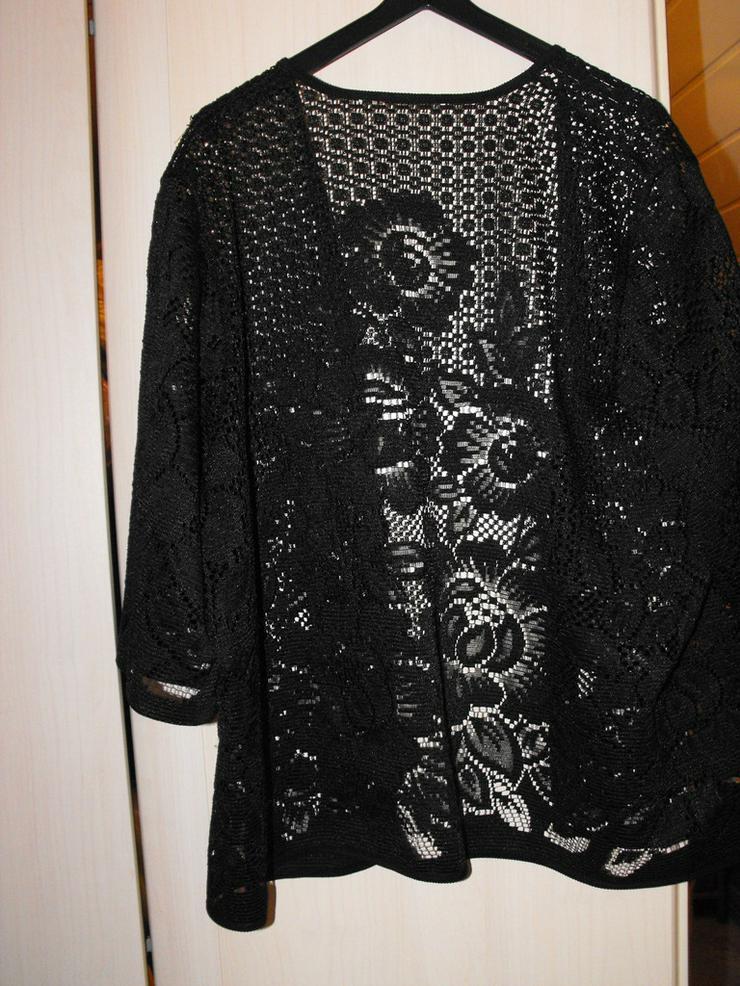 Bild 2: Weste schwarz mit schönem Muster