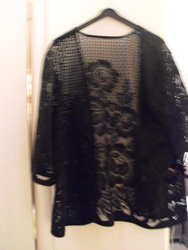 Bild 3: Weste schwarz mit schönem Muster