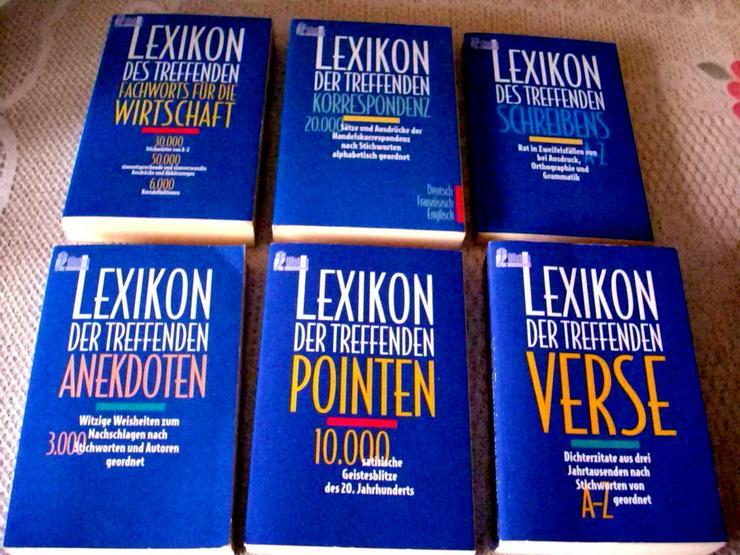 6 x Lexikon - Wörterbücher - Bild 1