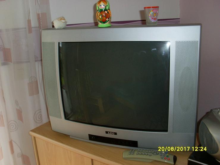 AEG Bildröhrenfernseher silber 52 cm Bild - Bild 1