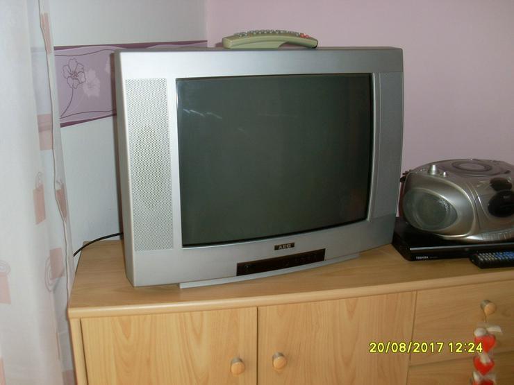 Bild 2: AEG Bildröhrenfernseher silber 52 cm Bild