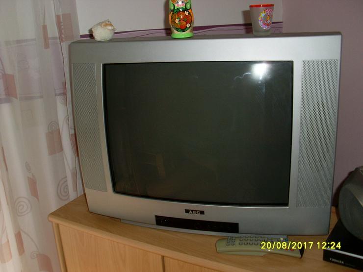 Bild 3: AEG Bildröhrenfernseher silber 52 cm Bild