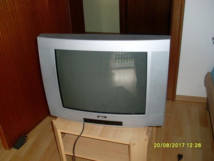 Bild 4: AEG Bildröhrenfernseher silber 52 cm Bild