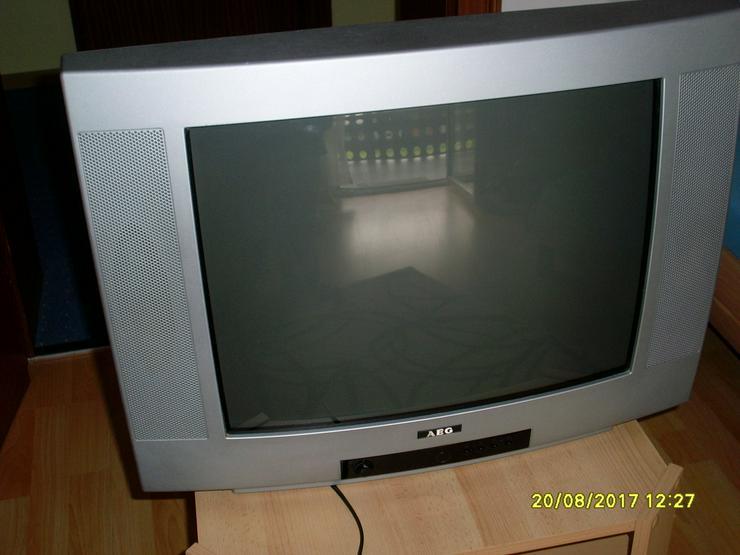 Bild 5: AEG Bildröhrenfernseher silber 52 cm Bild