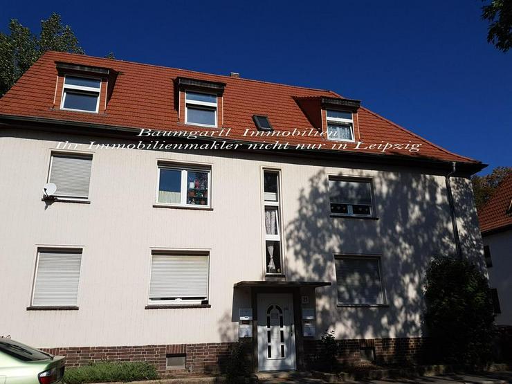 Merseburg - kleine 3 Zimmerwohnung in Mehrfamilienhaus im Erdgeschoss zu vermieten - Wohnung mieten - Bild 1