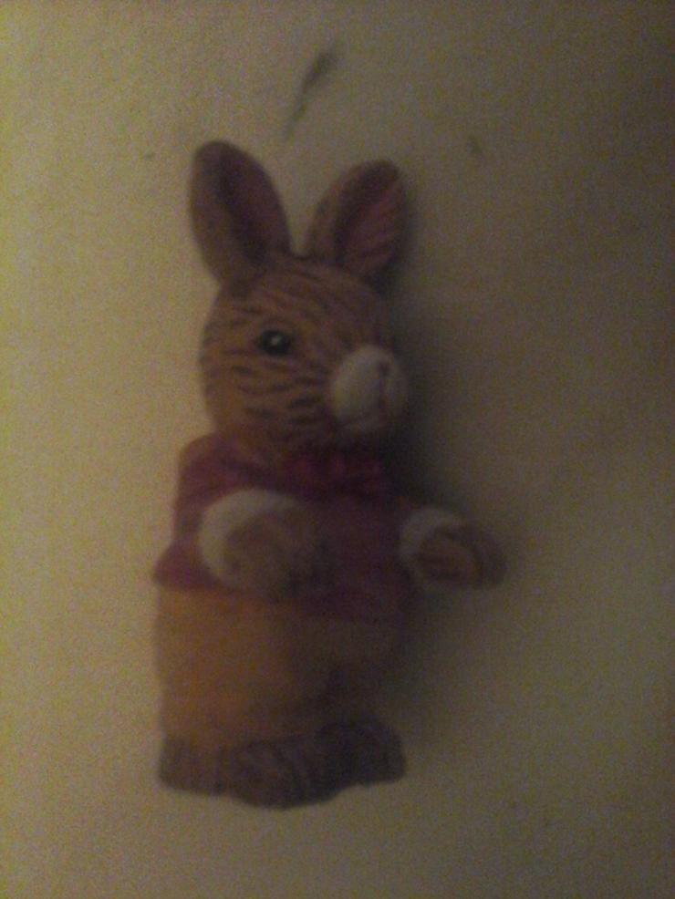 kleiner Hase Nippes-Figur H 8 cm, B 4 cm - Figuren & Objekte - Bild 1