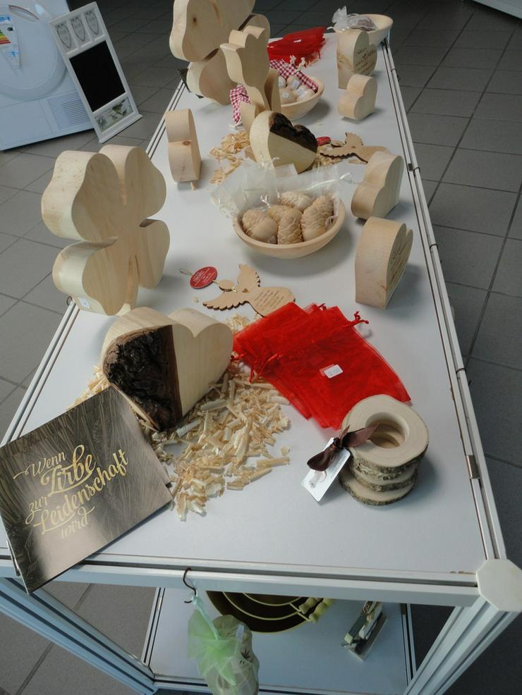 Bild 6: Dekoatikel aus Zirbenholz   handgearbeitet