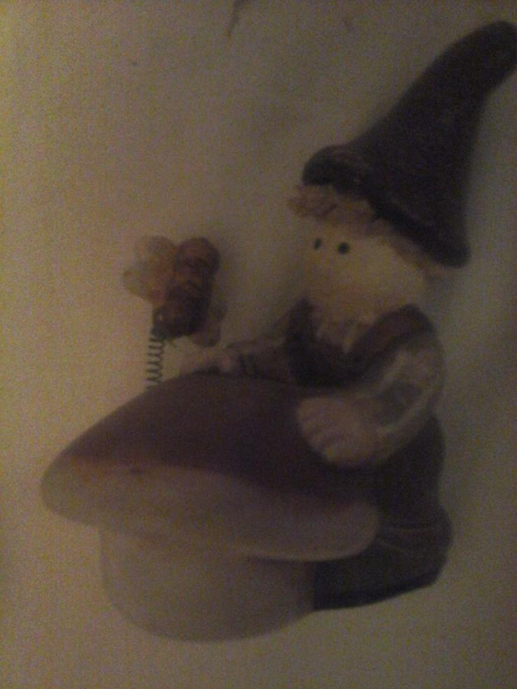 Nippes-Figur Zwerg H 11 cm, B 10 cm