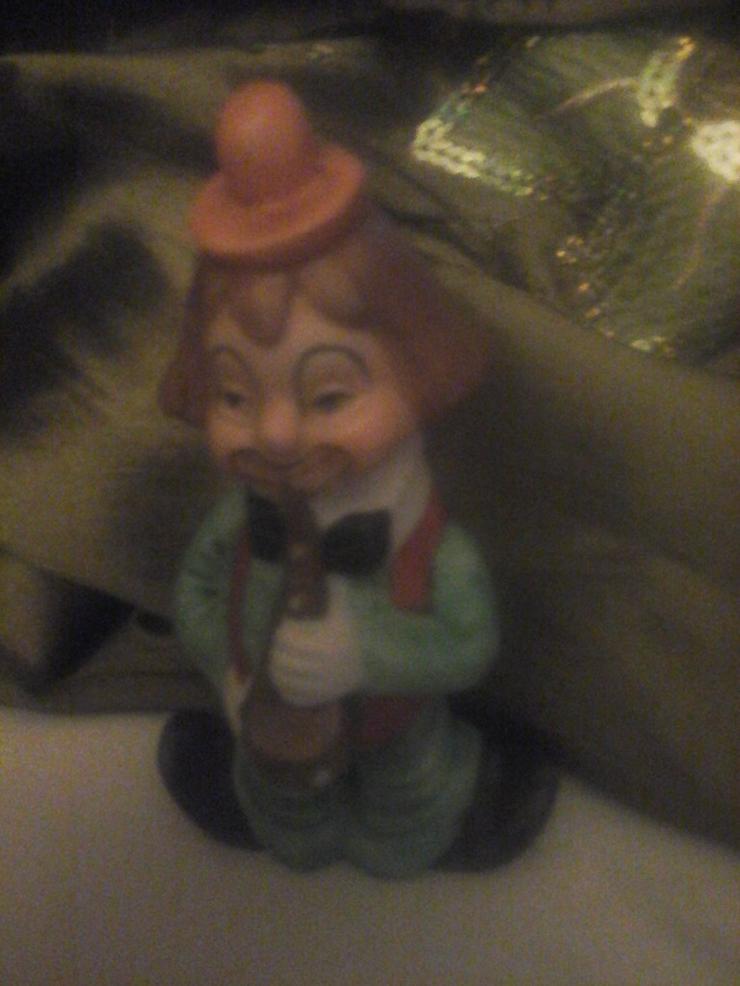 Nippes Clown-Figur H 11 cm, B 6 cm