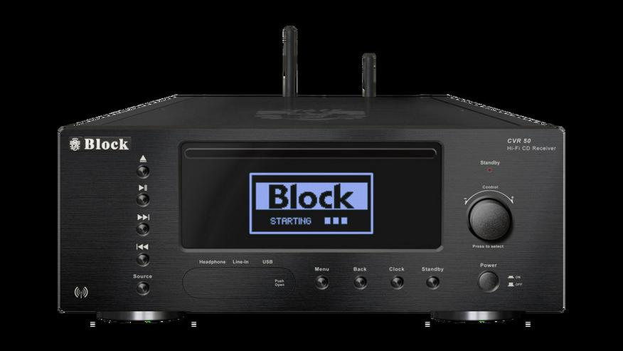 Bild 2: Block CVR-50 CD-Internet-Receiver Bluetooth