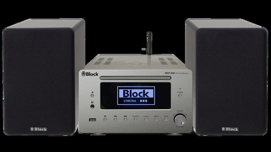 Block MHF-800 Mikroanlage Highend mit CD, DAB