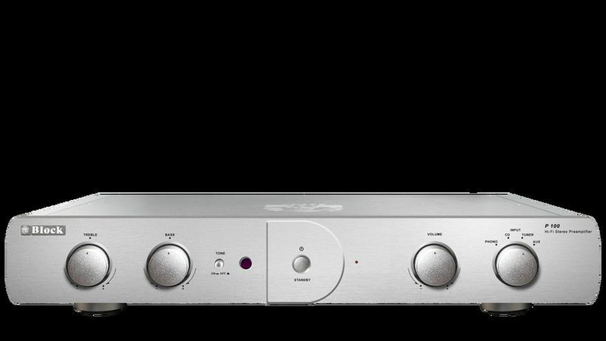 Block P-100 audiophile Vorstufe Vorverstärke
