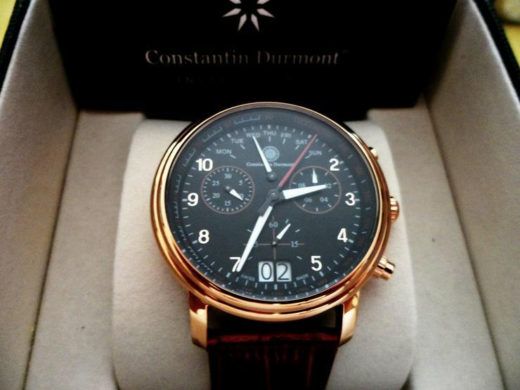 Constantin Durmont Swiss Made Ronda 8040.N neu - Herren Armbanduhren - Bild 1