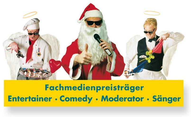 Bild 2: Singender Weihnachtsmann für Weihnachtsfeiern