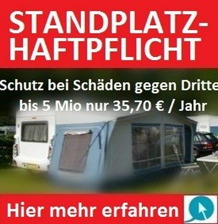 STANDPLATZHAFTPFLICHT für WOHNWAGEN / MOBILHEIM / TINY HOUSE in allen Ländern Europas ab 35,70 € / Jahr