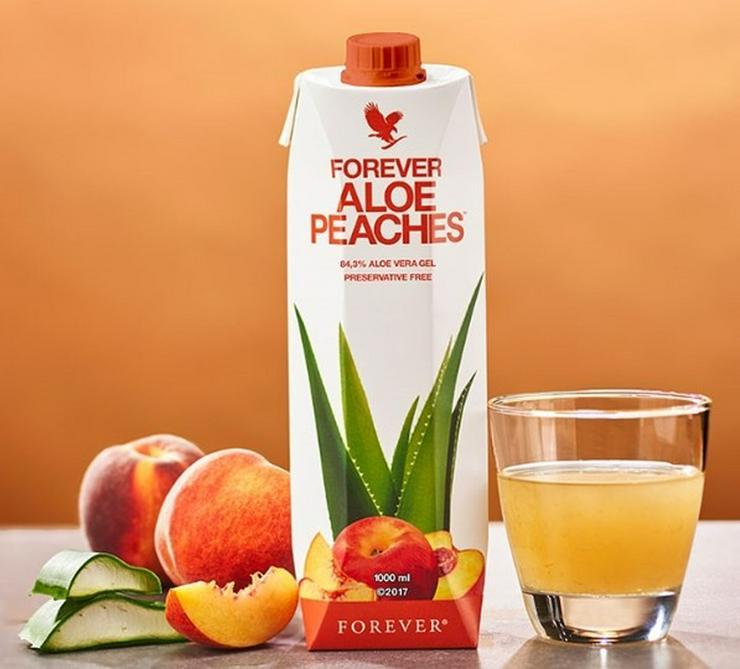 15% auf Forever Aloe Peaches oder Staffelpreise