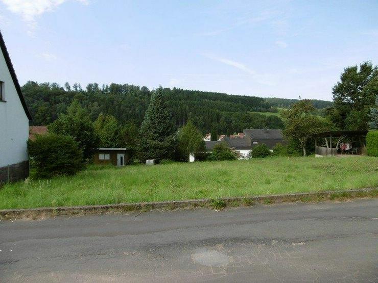 Großes Grundstück mit Blick über das Sinntal - von Schlapp Immobilien - Grundstück kaufen - Bild 1