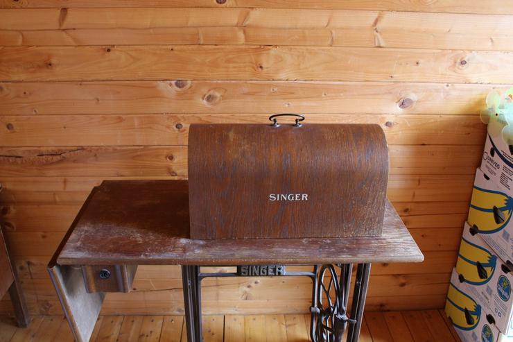 Bild 2: Nähmaschine Singer No 15 K 88