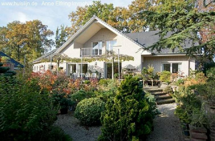 Bild 2: Anne Elfring Immobilien bietet an:Einfamilienhaus mit wunderschöner Garten.