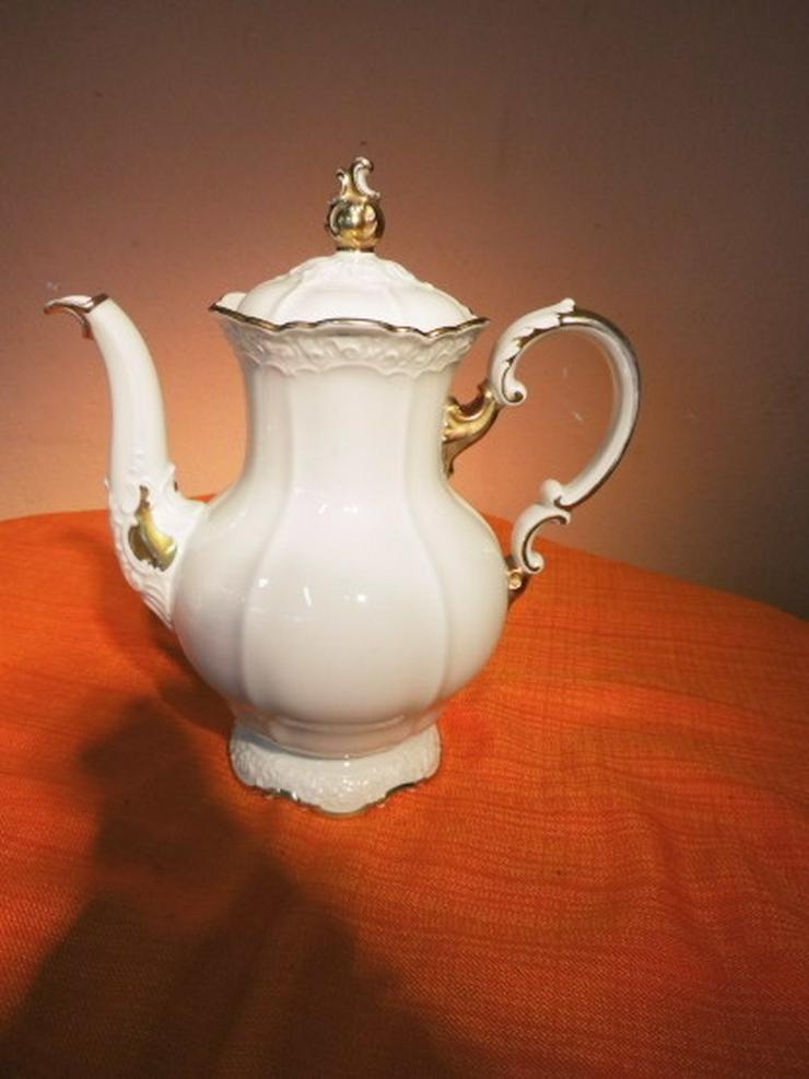 Bild 2: Alte ROSENTHAL Kaffeekanne Ivory / Porzellan K