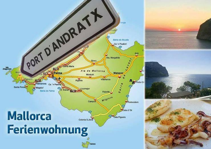 Ferienwohnung Mallorca 1A-Meerblick Traum-FeWo