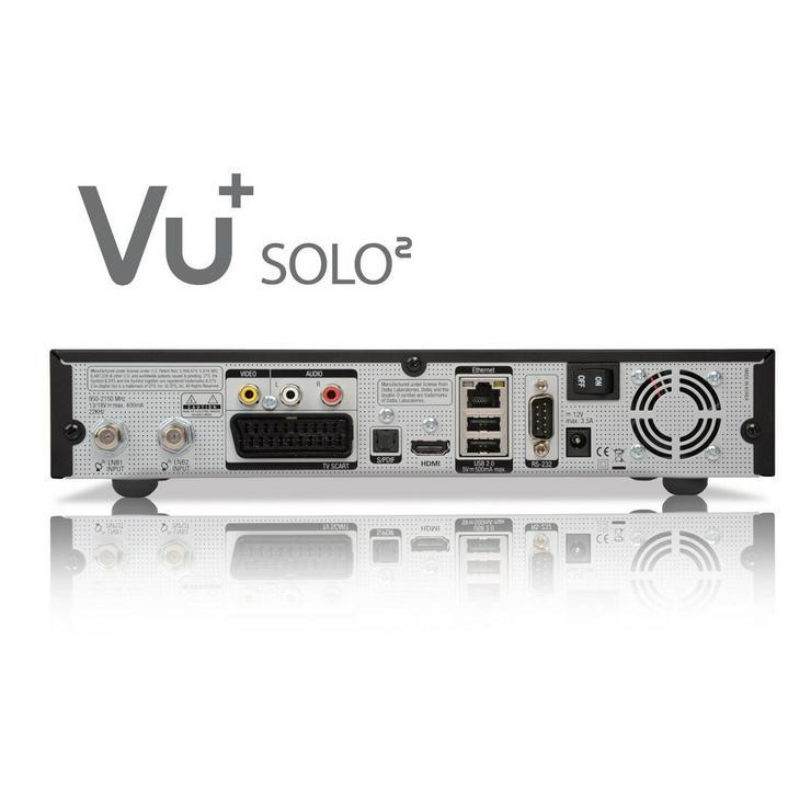Bild 2: VU+ Plus Solo II Linux Receiver Schwarz 1 TB HD