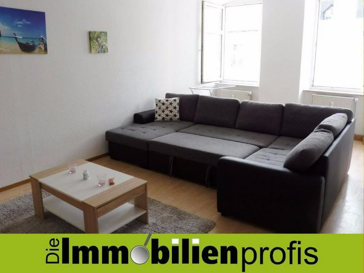 Große, möblierte 2-Zimmer-Wohnung im Stadtzentrum von Hof zu vermieten - Wohnung mieten - Bild 1