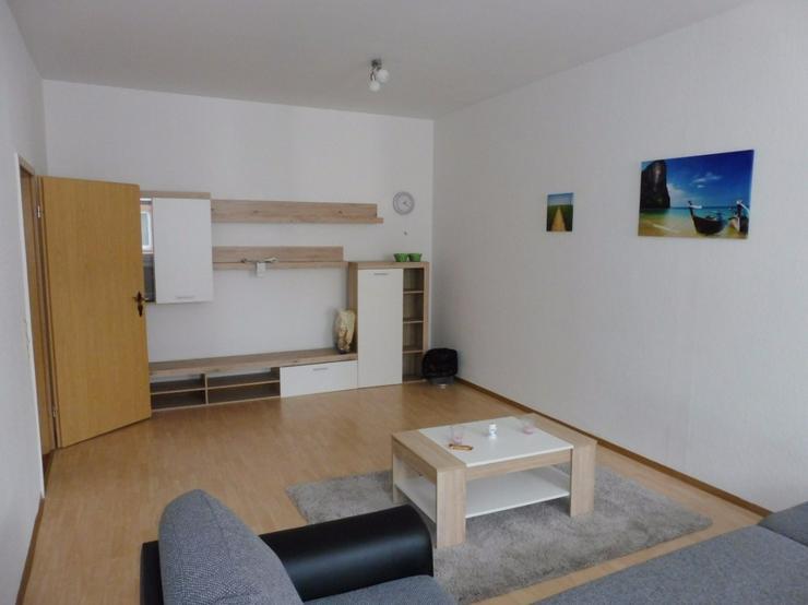 Bild 2: Große, möblierte 2-Zimmer-Wohnung im Stadtzentrum von Hof zu vermieten