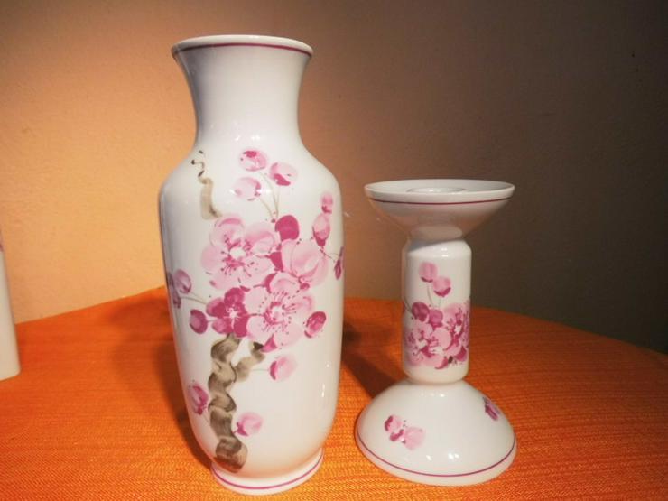 Vase + Kerzenständer Aelteste Volkstedter Porz - Vasen & Kunstpflanzen - Bild 1