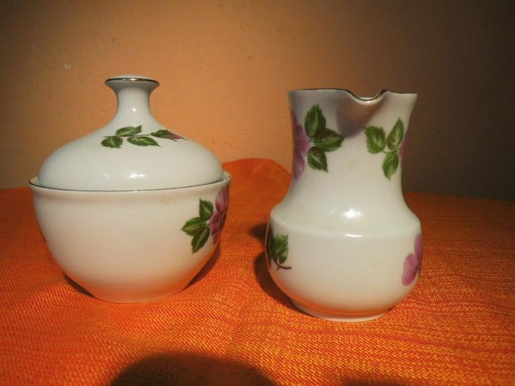 Bild 5: KAHLA Porzellan Milchkännchen und Zuckerdose m