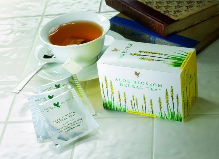 Bild 5: TEATIME mit Forever Aloe Blossom Herbal Tea® - mit 15% Rabatt oder Staffelpreisen - Versand:portofrei