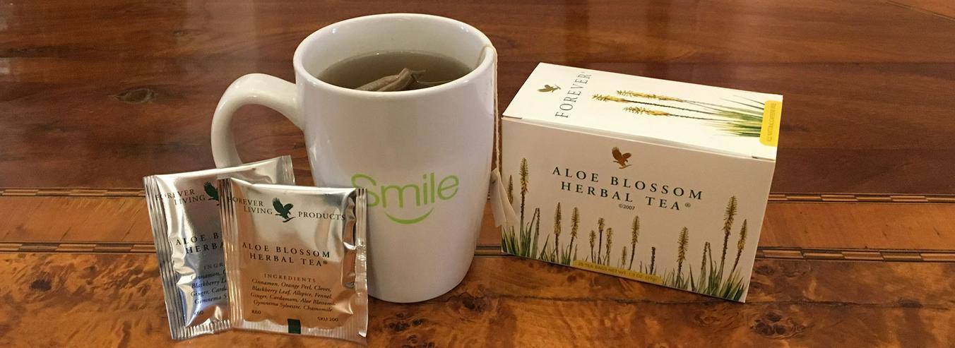 Bild 6: TEATIME mit Forever Aloe Blossom Herbal Tea® - mit 15% Rabatt oder Staffelpreisen - Versand:portofrei