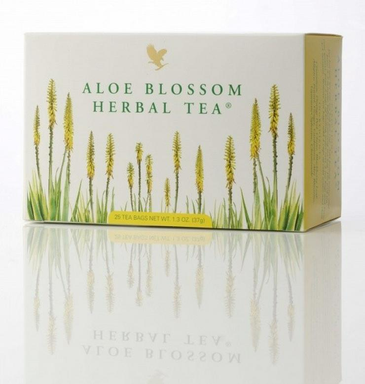 Bild 3: TEATIME mit Forever Aloe Blossom Herbal Tea® - mit 15% Rabatt oder Staffelpreisen - Versand:portofrei