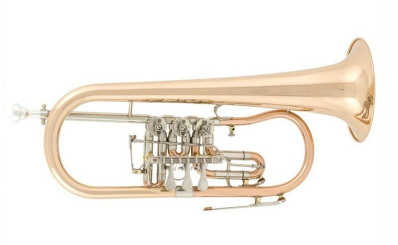 Arnold & Sons Konzert - Flügelhorn Goldmessing