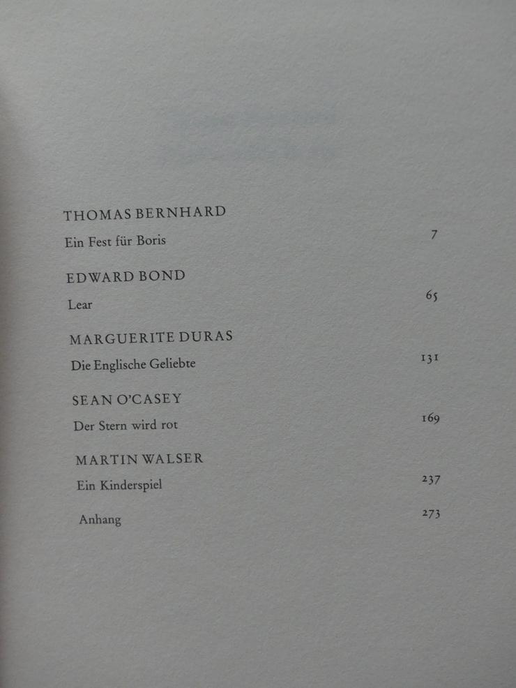 Bild 3: Spectaculum - Moderne Theaterstücke, Band 17
