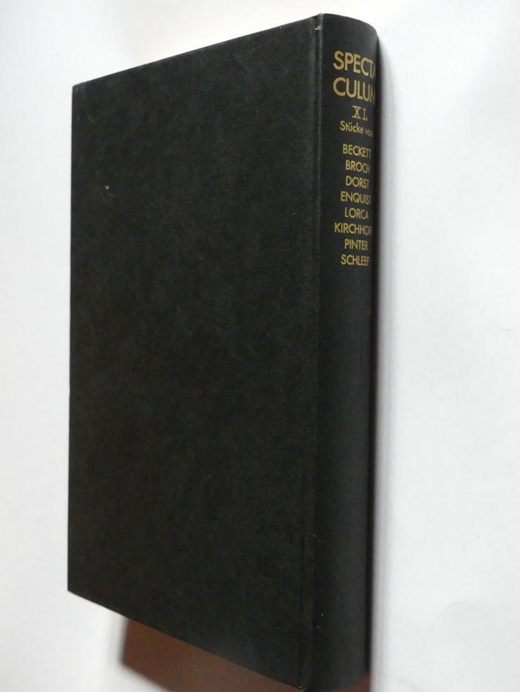 Spectaculum - Moderne Theaterstücke, Band 40 - Romane, Biografien, Sagen usw. - Bild 1