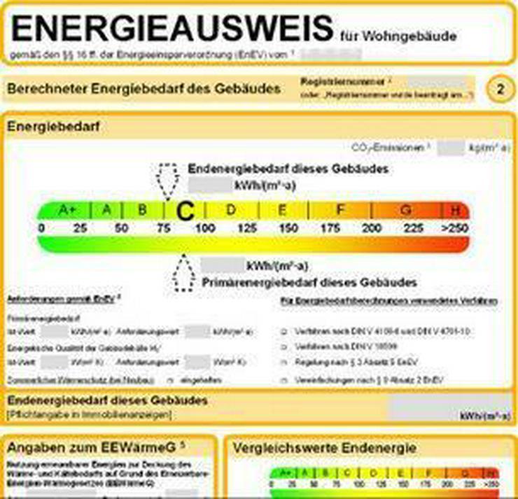 Bild 3: Energieausweis, Bedarfsausweis, Verbrauchsausweis bei RIE Immobilien online bestellen