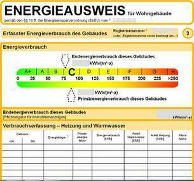 Bild 2: Energieausweis, Bedarfsausweis, Verbrauchsausweis bei RIE Immobilien online bestellen