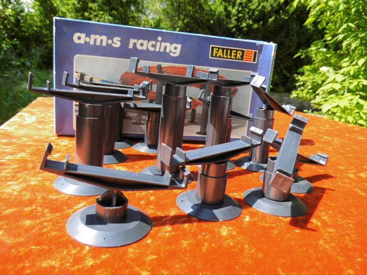 12 Stützen Steilkurve für eine Faller Autorenn - Rennbahnen & Fahrzeuge - Bild 1