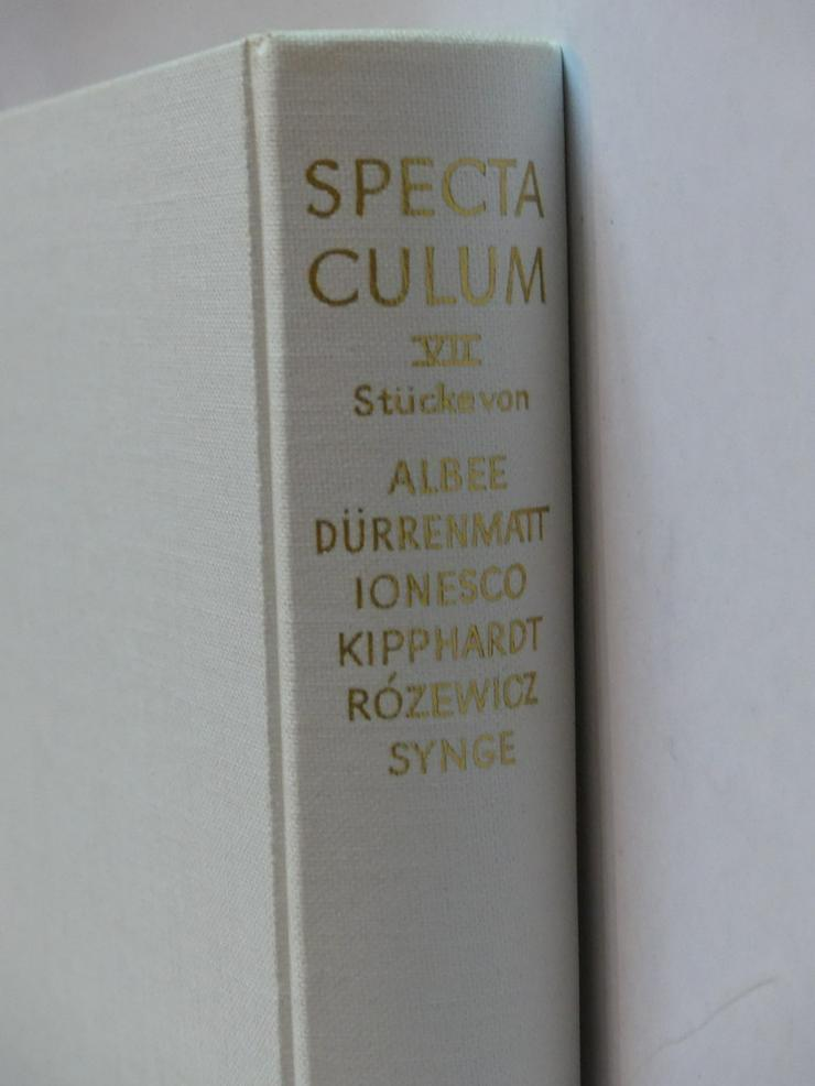 Spectaculum - Moderne Theaterstücke, Band 7 - Romane, Biografien, Sagen usw. - Bild 1